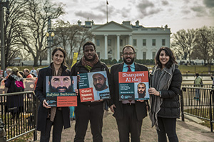 Center of Constitutional Rights Guantanamo legal team, Photo credit: Justin Norman