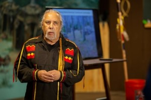 a photo of chief perry of the ramapough lenape nation