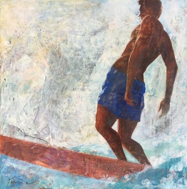 François Foucras Danse avec les vagues