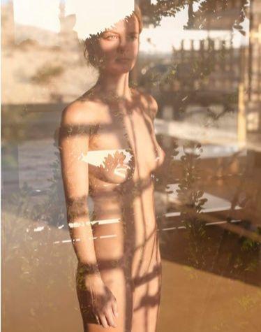 Mona Kuhn Serie Ácido dorado