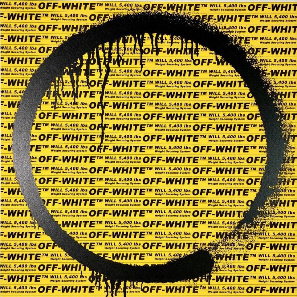 Takashi Murakami Takashi Murakami x Virgil Abloh (Off White) Kyoto Enso