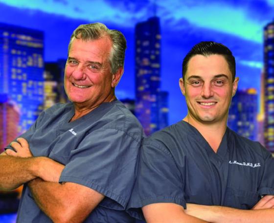 Drs. Tom & Marc Manos