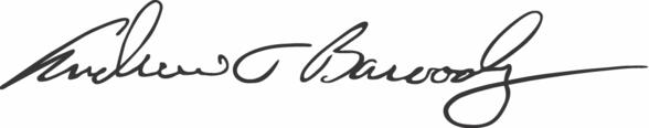 Andrew Baroody signature