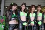 Les umbrella girls au Japon