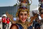 Les umbrella girls du GP de Thaïlande