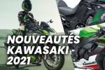 Nouveaut?s motos Kawasaki 2021