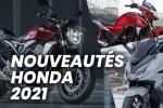 Nouveaut?s motos et scooters Honda 2021