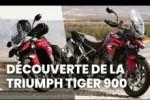 Le Trail Triumph Tiger 900 en vidéo