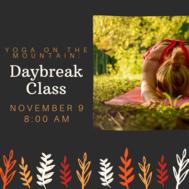 Daybreak Yoga Class