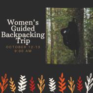 Womens Backpacking Trip