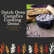 Dutch Oven Cooking Demo