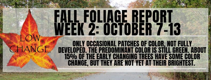 Fall Color Report Week 2