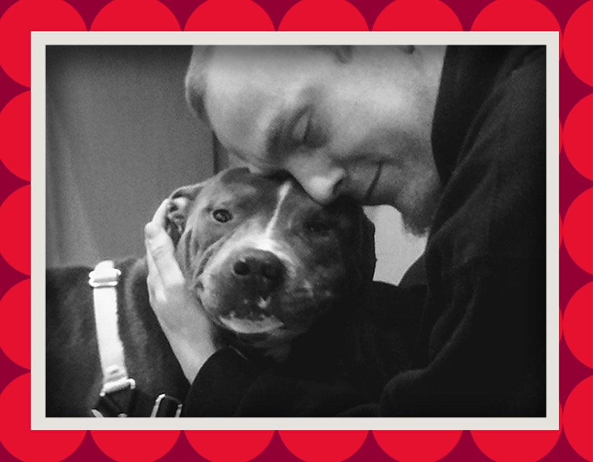 Anthony & dog