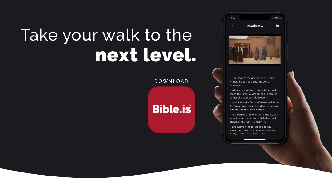 Click here to find out more about the free Bible.is app.