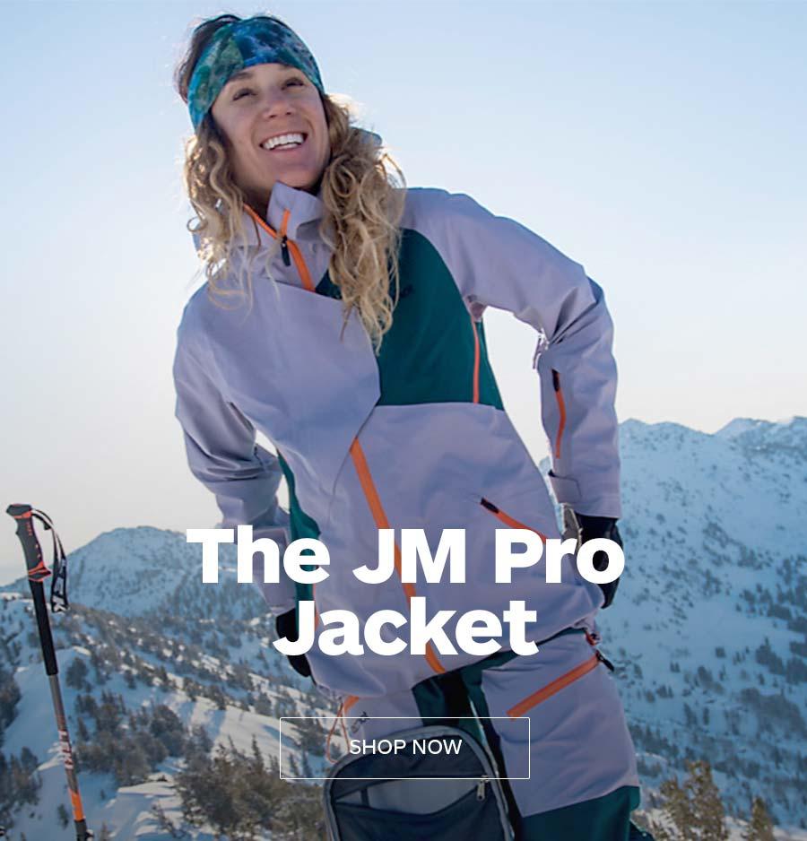 The JM Pro Jacket. SHOP NOW