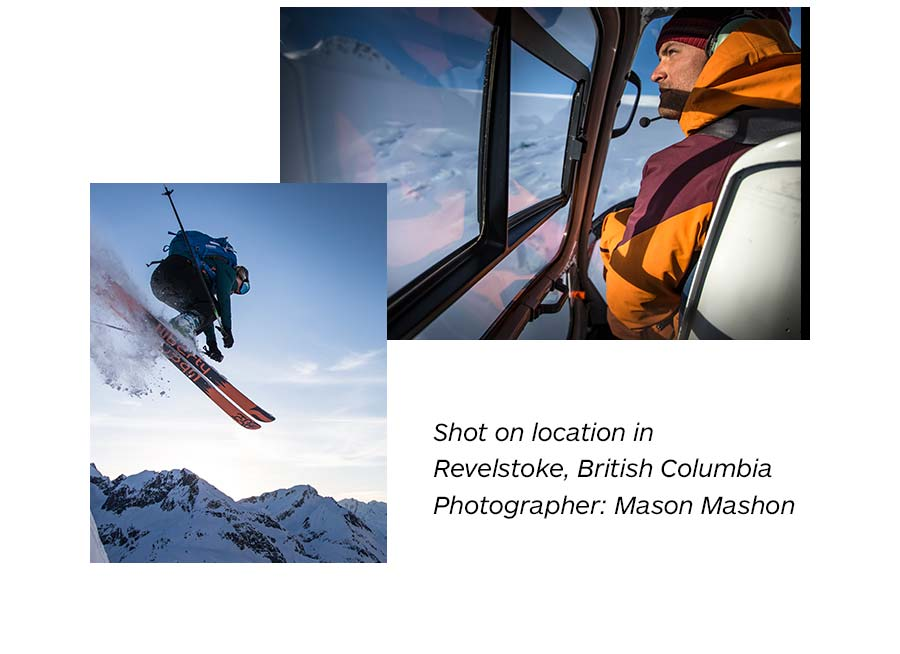 Shot on location in Revelstoke, British Columbia. Photographer: Mason Mashon.