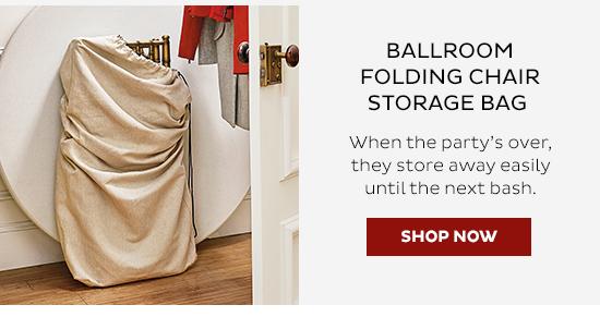Ballroom Folding Chair Storage Bag