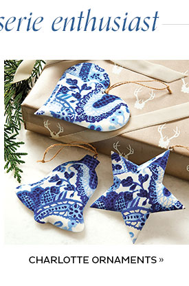 Charlotte Ornaments