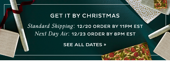Get it by Christmas   See All Shipping Dates