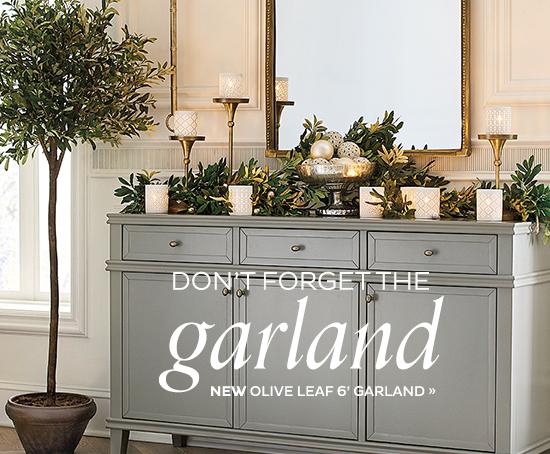 Olive Leaf Garland