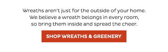 Shop Wreaths and Greenery