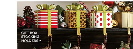 Gift Box Stocking Holders