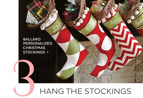 Ballard Personalized Christmas Stockings