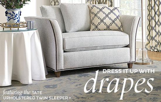 Tate Upholstered Twin Sleeper