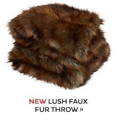 Lush Faux Fur Throw