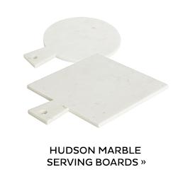 Hudson Marble Serving Boards