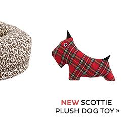 Scottie Plush Dog Toy