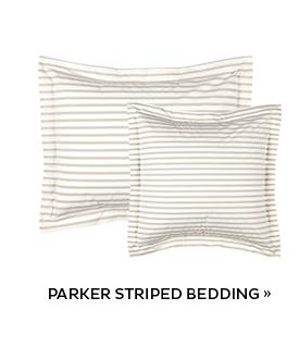 Parker Striped Bedding