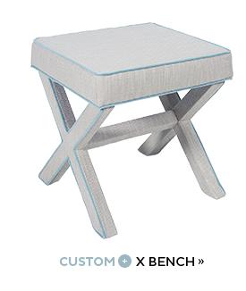 Custom + X Bench