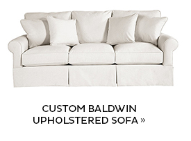 Custom Baldwin Upholstered Sofa