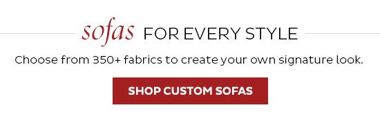 Shop Custom Sofas