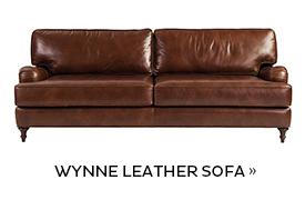 Wynne Leather Sofa