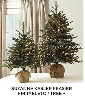 Suzanne Kasler Frasier Fir Tabletop Tree