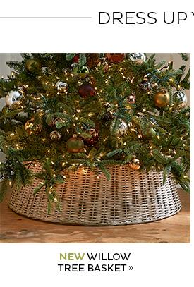 New Willow Tree Basket