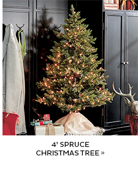 Four Foot Spruce Christmas Tree