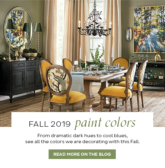 Fall 2019 Paint Colors   READ MORE ON THE BLOG