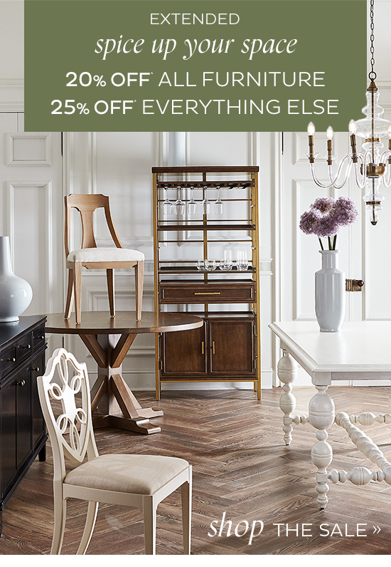 Spice Up Your Space Extended   SHOP THE SALE