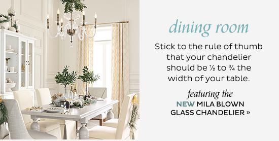 Mila Blown Glass Chandelier