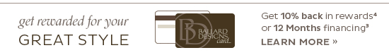 Ballard Designs Credit Card