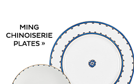 Ming Chinoiserie Plates