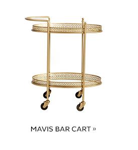Mavis Bar Cart