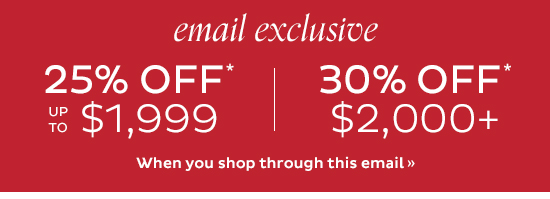 Shop Through This Email