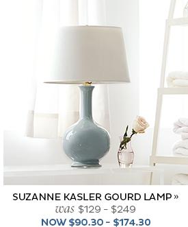 Suzanne Kasler Gourd Lamp