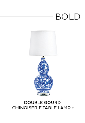 Double Gourd Chinoiserie Table Lamp