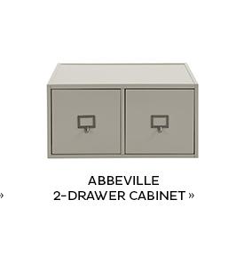 Abbeville 2-Drawer Cabinet