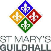 St Mary's Guildhall logo
